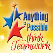 Anything Is Possible Think Teamwork Theme from Positive Promotions