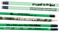 Click here to see our Bully Prevention pencils