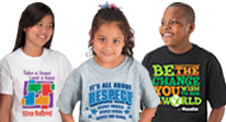 Click here to see our Bully Prevention T-Shirts.