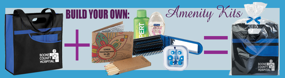 build your own amenity kits, we make it easy!