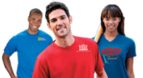 Click here to see our Corporate Team Wear t-shirts