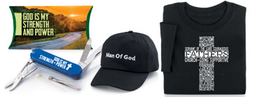 Honor fathers for their strength, faith and character. father's day appreciation gifts