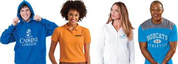 Wear your school pride with promotional and personalized apparel!