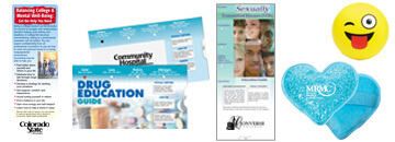 Stay healthy at school with informative and promotional healthcare products.