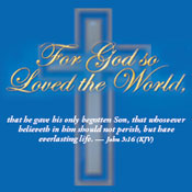 John 3:16 Theme from Positive Promotions
