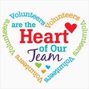Volunteers Are The Heart Of Our Team Theme from Positive Promotions