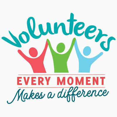 Volunteers Every Moment Makes A Difference Theme from Positive Promotions