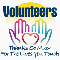 Volunteers Thanks So Much For The Lives You Touch Theme from Positive Promotions