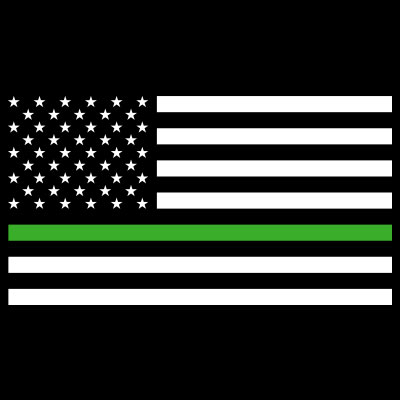 The Thin Green Line Theme from Positive Promotions
