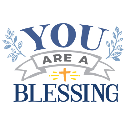 You Are A Blessing Theme from Positive Promotions