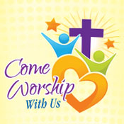 Come Worship With Us Theme from Positive Promotions