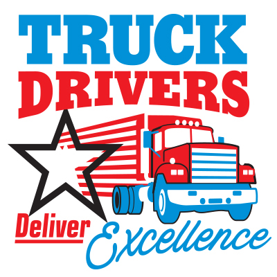 Truck Drivers Deliver Excellence Theme from Positive Promotions