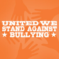 United We Stand Against Bullying Theme from Positive Promotions