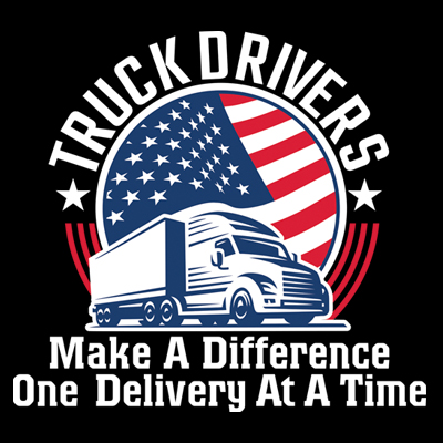 Truck Drivers Make A Difference One Delivery At A Time Theme from Positive Promotions
