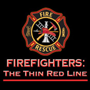 Firefighters The Thin Red Line Theme from Positive Promotions
