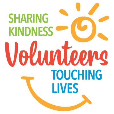 Volunteers Sharing Kindness Touching Lives Theme from Positive Promotions