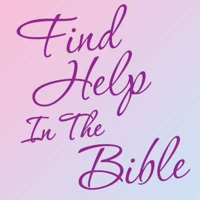 Find Help In The Bible Theme from Positive Promotions
