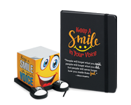 Shop our featured theme products, Keep a Smile in Your Voice