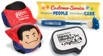 customer service recognition goofy gifts, clever gifts to combine praise with fun for everyone.