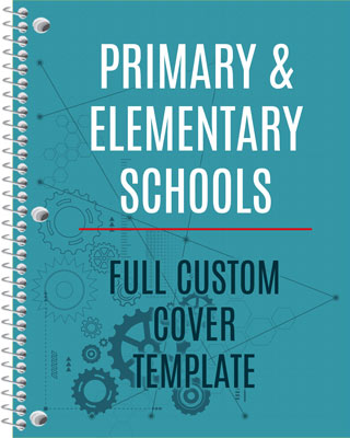 Elementary and Primary School Cover template download