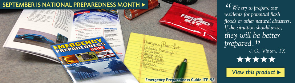 Emergency Preparedness Guide, customer's testimonial