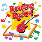 Reading Rocks! Theme from Positive Promotions