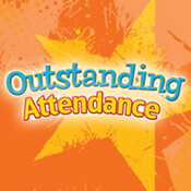 Outstanding Attendance Theme from Positive Promotions