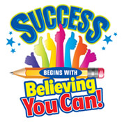 Success Begins By Believing You Can Theme from Positive Promotions