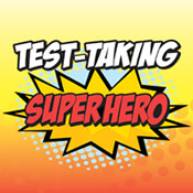Test Taking Superhero Theme from Positive Promotions
