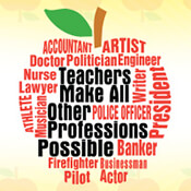 Teachers Make All Other Professions Possible Theme from Positive Promotions