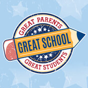 Great Parents Great Students Great School Theme from Positive Promotions