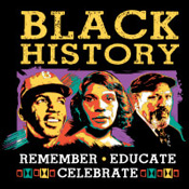Black History Remember Educate Celebrate Theme from Positive Promotions