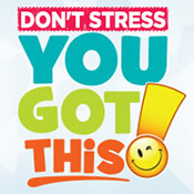 Don't Stress You Got This Theme from Positive Promotions