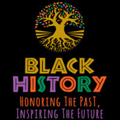 Black History Honoring The Past Inspiring The Future Theme from Positive Promotions
