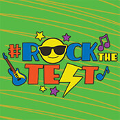 #rockthetest Theme from Positive Promotions