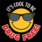 It's Cool To Be Drug Free Theme from Positive Promotions