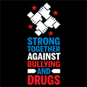 Strong Together Against Bullying And Drugs Theme from Positive Promotions