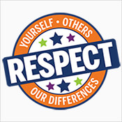 Respect Yourself Others Our Differences Theme from Positive Promotions