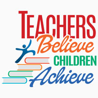Teachers Believe Children Achieve Theme from Positive Promotions