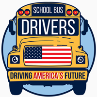 School Bus Drivers Driving America's Future Theme from Positive Promotions