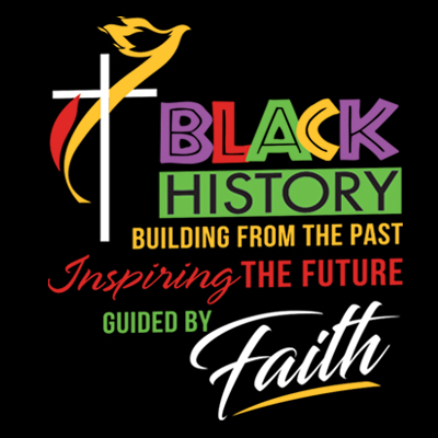 Black History Building From The Past Inspiring The Future Guided By Faith Theme from Positive Promotions