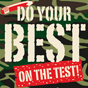 Do Your Best On The Test Theme from Positive Promotions
