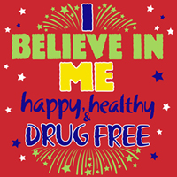I Believe In Me Drug Free Theme from Positive Promotions