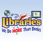 Libraries We Do More Than Books Theme from Positive Promotions