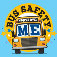 Bus Safety Starts With Me Theme from Positive Promotions