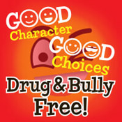 Good Character Good Choices Bully And Drug Free Theme from Positive Promotions