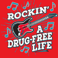 Rockin' A Drug Free Life Theme from Positive Promotions
