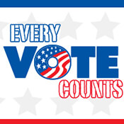 Every Vote Counts Theme from Positive Promotions