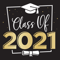 Class of 2021 Theme from Positive Promotions