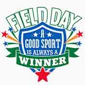 Field Day A Good Sport is Always A Winner Theme from Positive Promotions